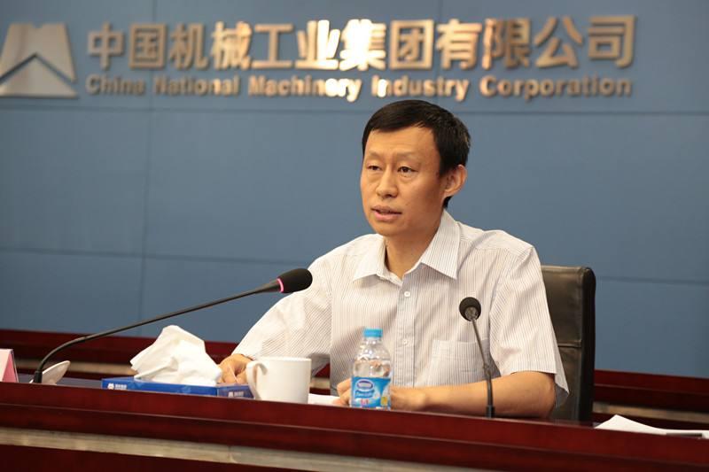 中国汽车工业国际合作有限公司总经理韩晓军照片