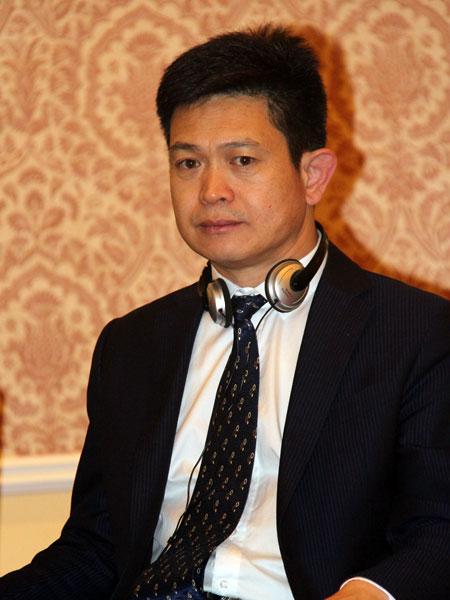 北京振威展览公司总经理张学山照片