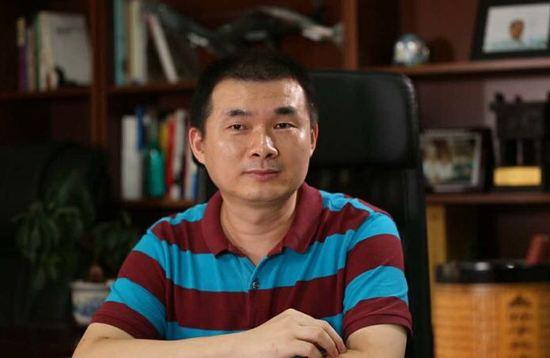汇志传媒董事长兼总裁翁宝照片