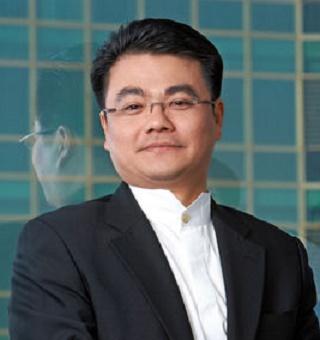 腾讯集团高级执行副总裁刘胜义照片