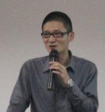 淘宝大学厦门站讲师柯景在照片
