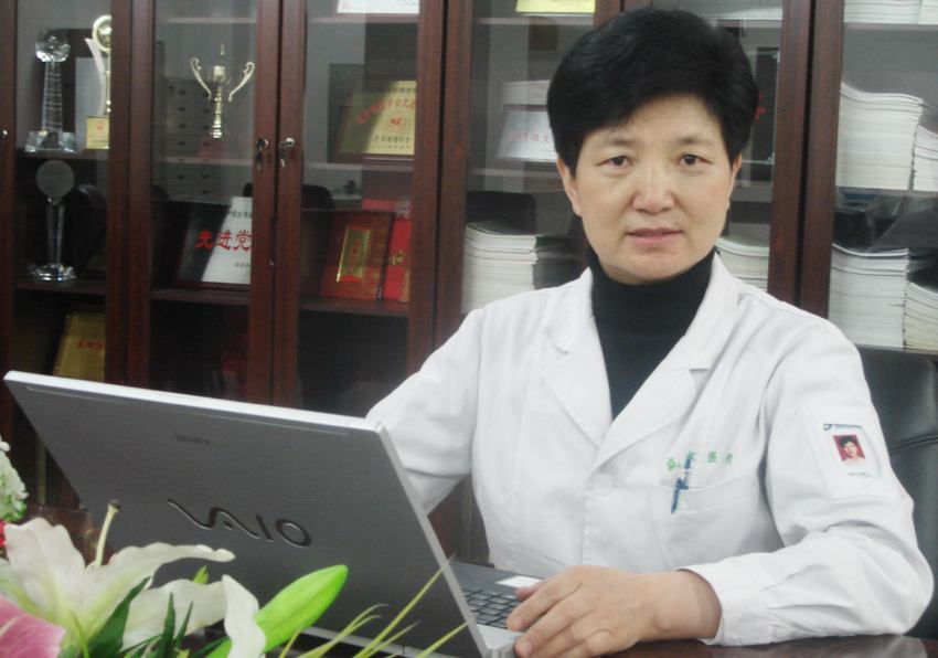中国医科大学附属盛京医院教授张淑兰照片