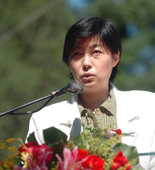 中华人民共和国国家卫生和计划生育委员会科教司处长王锦倩照片