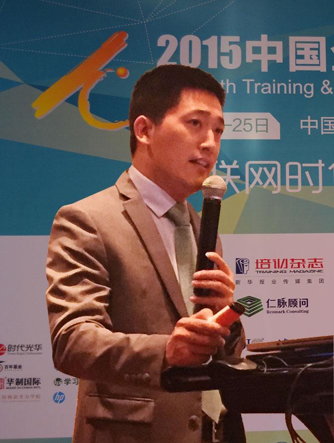 仁脉顾问(中国)学习发展总监贾继波照片