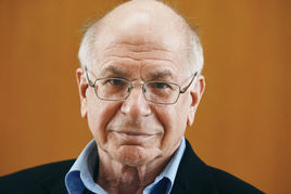 美国科学院院士丹尼尔·卡内曼(Daniel Kahneman)照片