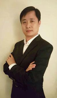 上海彼上投资有限公司董事钟锐照片