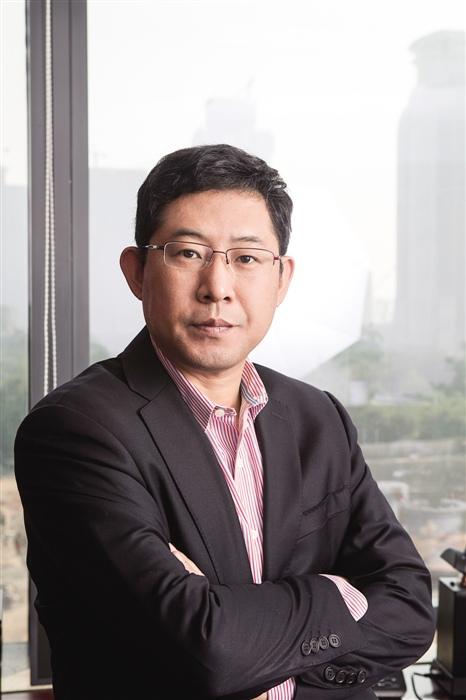 红土创新基金总经理邵钢照片
