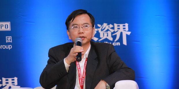 赛伯乐投资集团合伙人朱伟豪照片