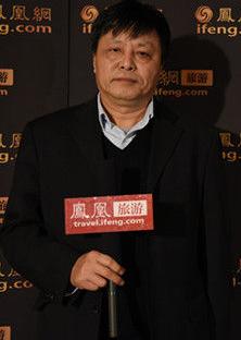 北京旅游学会副会长张辉照片