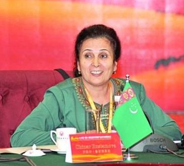 土库曼斯坦外交部驻华大使鲁斯捷莫娃