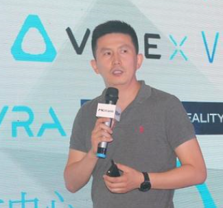 HTC VIVE中國區總裁謝冬平照片