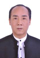 台湾市易学文化促进会常务副会长郎鹤鸣照片