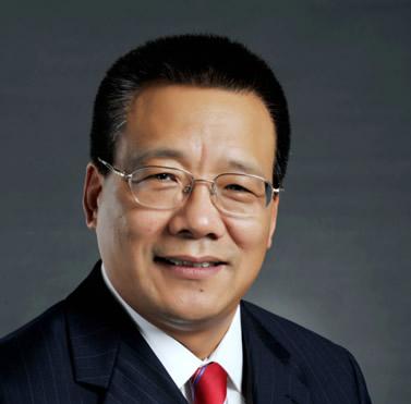 戴尔大中华区总裁黄陈宏照片