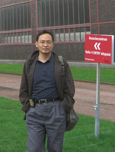 北京理工大学设计与艺术学院教授孙远波照片