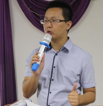 深圳跨境电子商务协会副会长郑晓鹏照片