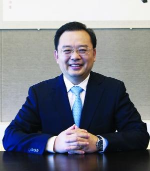 中欧基金管理有限公司总经理刘建平照片