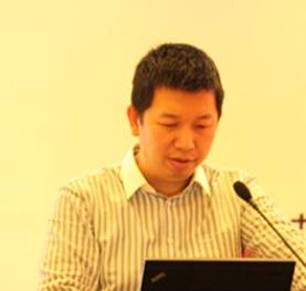 中国移动中移电子商务公司  总经理助理游峰  照片