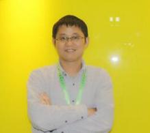 理才网产品市场总监龚铭照片