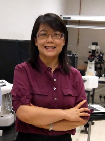 澳门大学助理教授王颖(Ying Wang)照片