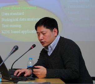 中国科学院系统生物学重点实验室生物信息中心执行主任刘雷 照片