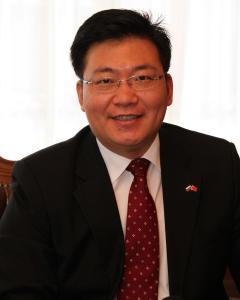 中共中央对外联络部副部长郭业洲照片