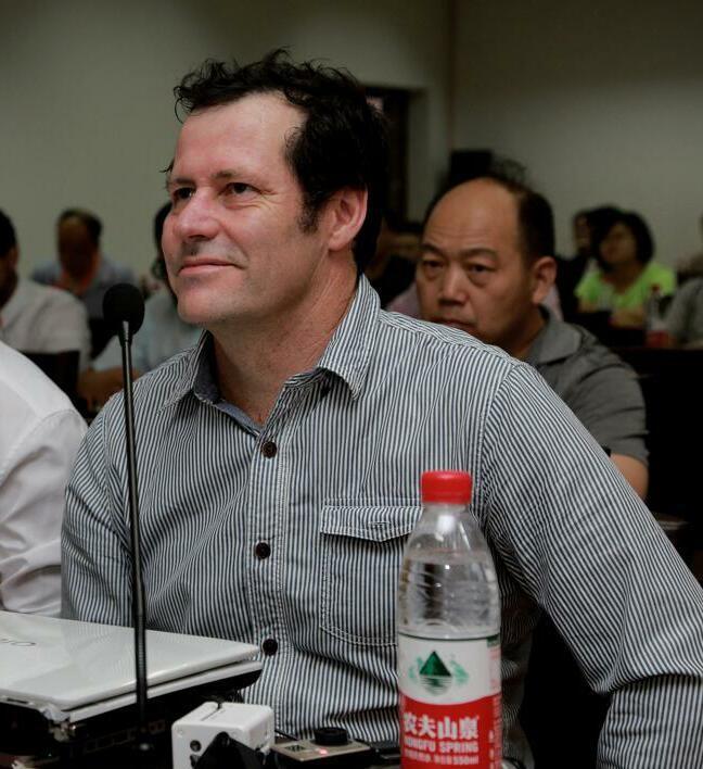 澳大利亚一体化能源公司总经理卡瓦纳.戴维照片