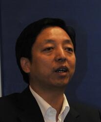 中石化信息管理部副主任李剑锋 照片