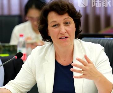 国际贸易中心 首席经济学家Marion  Jansen照片