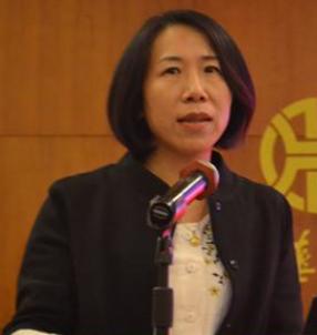 上海浦东发展银行总行投资银行部副总经理刘梅照片