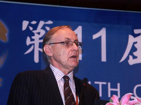 亞太經合組織 秘書處執行長艾倫.博拉德照片