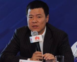 华为企业 BG金融系统部总裁 刘利民  照片