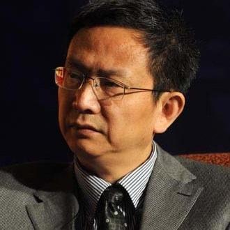 中关村互联网金融研究院院长贾康照片