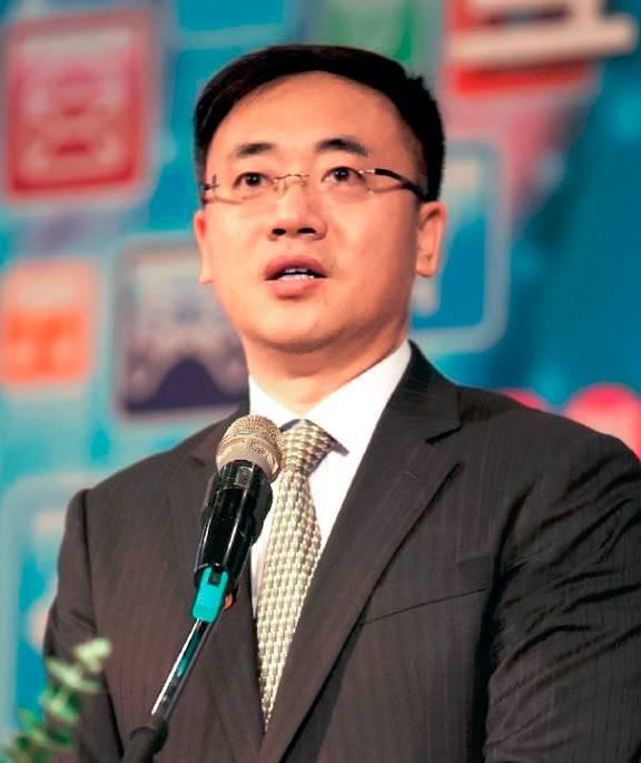 上海银行首席信息官胡德斌照片