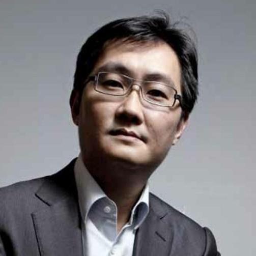 腾讯公司董事局主席马化腾照片