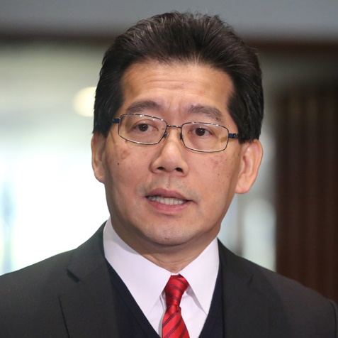 中华人民共和国香港特别行政区商务及经济发展局局长苏锦梁照片