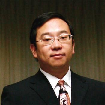全联房地产商会秘书长钟彬照片