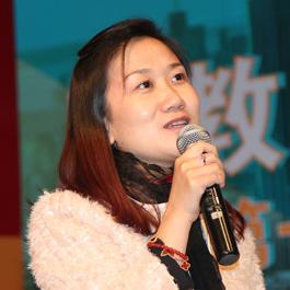 巅峰智业执行总裁刘惠照片