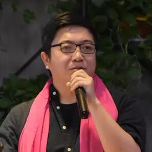 禾连WiFi副总裁刘欢照片