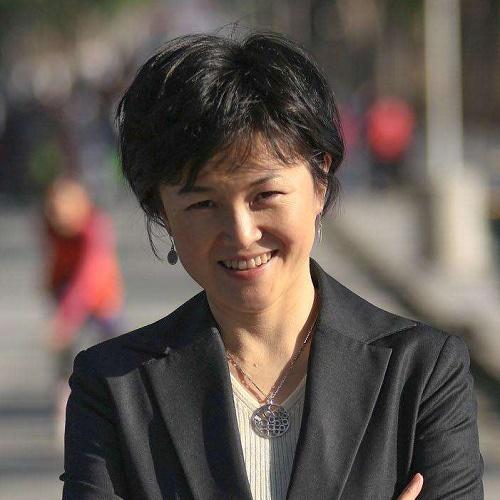纽约时报中文网总编辑倪青青照片