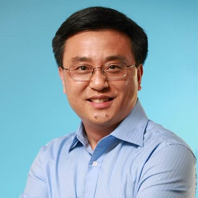 微软中国研发集团总裁张亚勤照片
