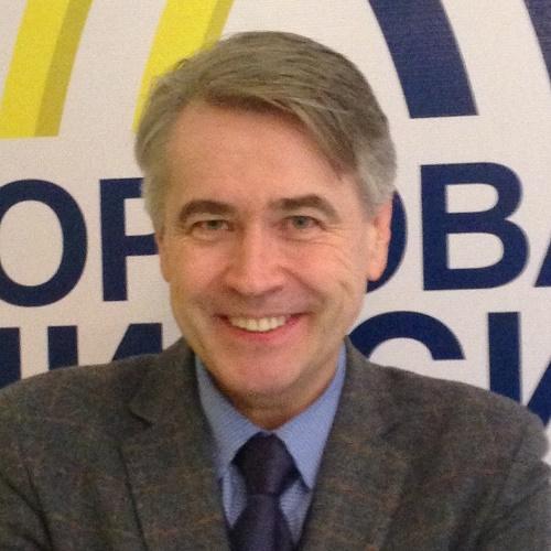 俄罗斯跨境电商邮政物流委员会主席Igor Subow照片