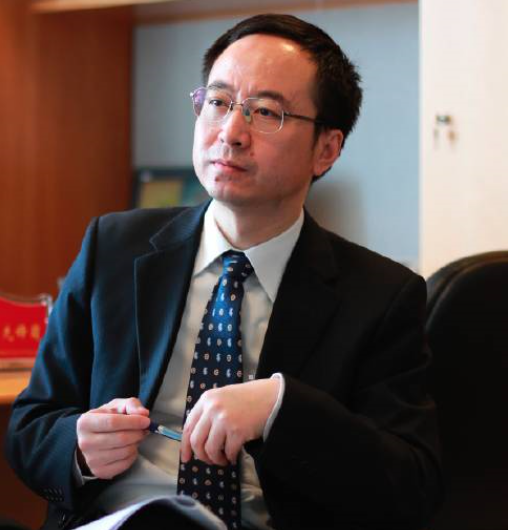 中国银行贸易金融部 总经理姜煦照片