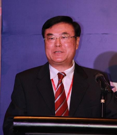商务部中国国际经济合作学会会长崔明谟照片