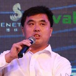 比克电池董事长兼总裁李向前照片