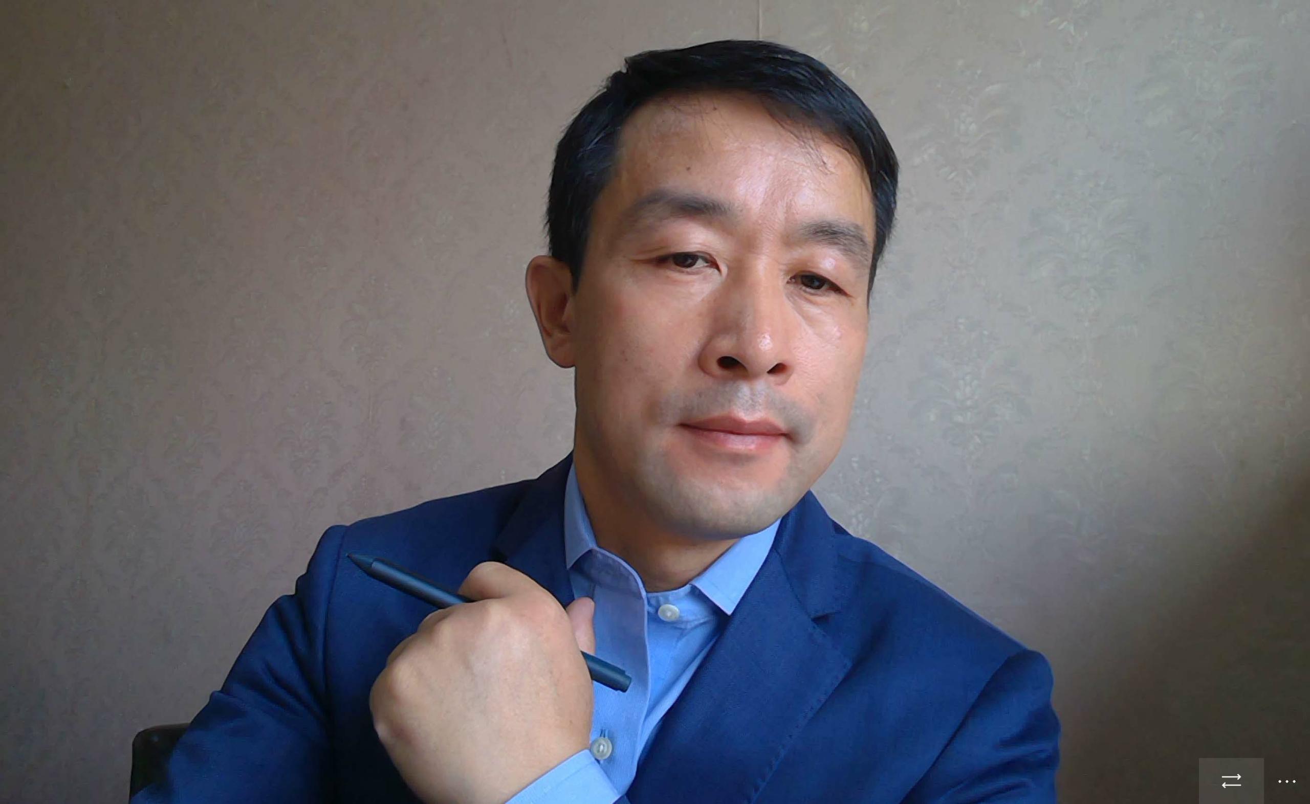 腾盛智能物联传感事业部总监冯立超