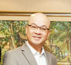 中国区总裁大华银行Peter Foo 照片