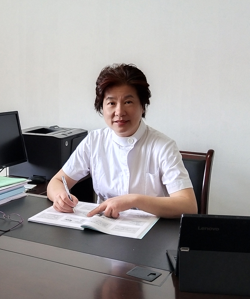 杭州師范大學醫學院副院長、教授許 虹照片
