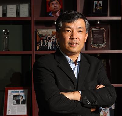 汉能投资集团董事长兼首席执行官陈宏 照片
