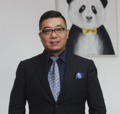 熊猫资本合伙人李 论 照片