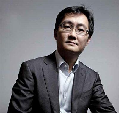 騰訊董事會主席、執行董事、首席執行官馬化騰照片